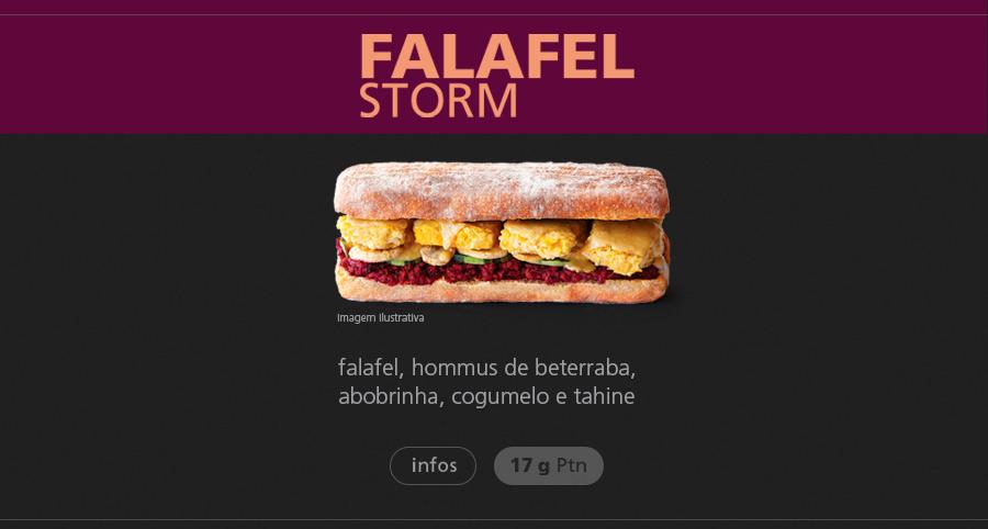 biO2 Falafel Storm